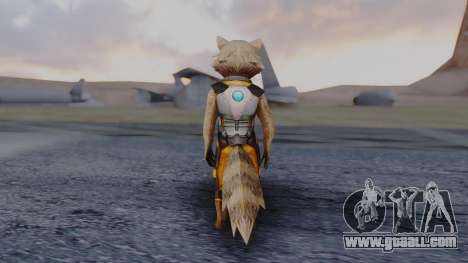 Marvel Future Fight - Rocket Raccon for GTA San Andreas third screenshot