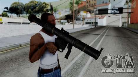 CoD Black Ops 2 - SMAW for GTA San Andreas third screenshot