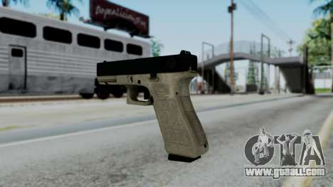 Glock 18 Sand Frame for GTA San Andreas second screenshot