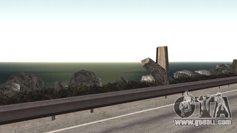 Road repair Los Santos - Las Venturas for GTA San Andreas tenth screenshot