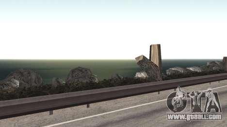 Road repair Los Santos - Las Venturas for GTA San Andreas tenth screenshot