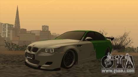 BMW m5 e60 Verdura for GTA San Andreas left view