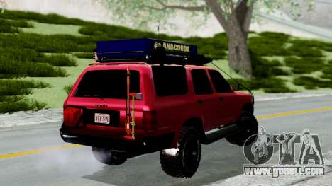 Toyota 4Runner 1995 Offroad for GTA San Andreas left view