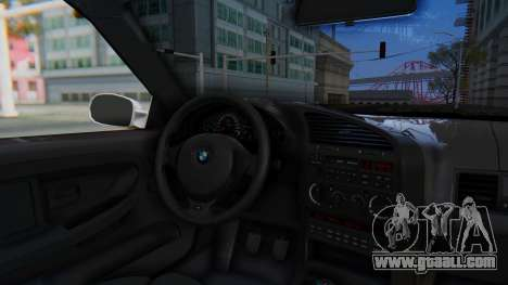 BMW 320i E36 MPower for GTA San Andreas back view
