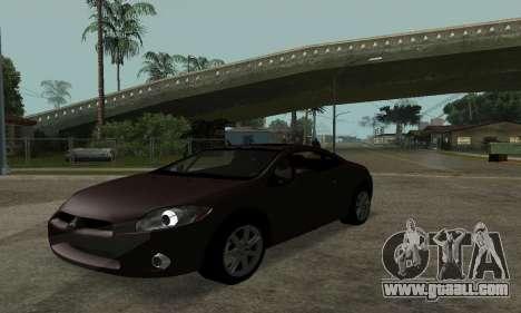 Mitsubishi Eclipse GT for GTA San Andreas right view