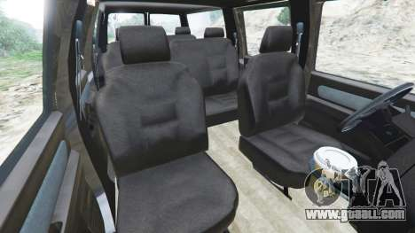 GTA 5 Chevrolet Suburban GMT400 right side view