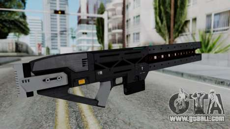 GTA 5 Railgun - Misterix 4 Weapons for GTA San Andreas second screenshot