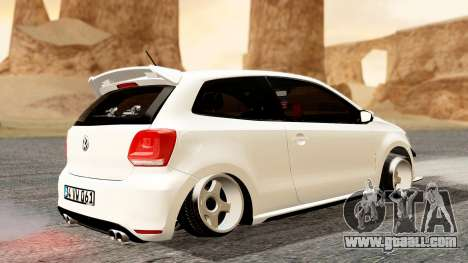 Volkswagen Polo GTI for GTA San Andreas back left view