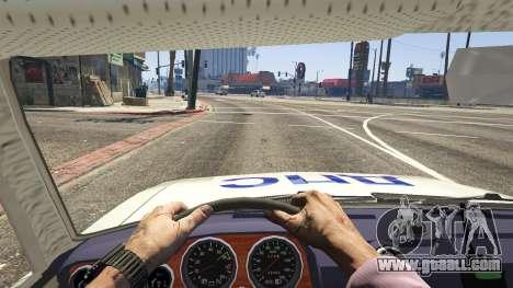GTA 5 VAZ 2106 Police back view