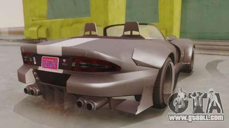 GTA 5 Bravado Banshee 900R Carbon for GTA San Andreas left view