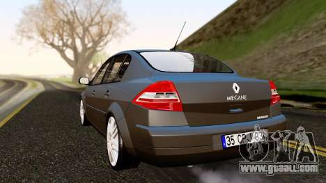 Renault Megane CPJ for GTA San Andreas left view
