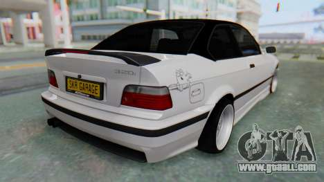 BMW 320i E36 MPower for GTA San Andreas left view