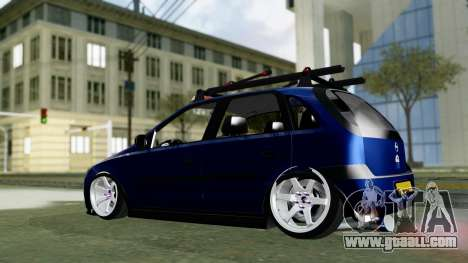 Opel Corsa C for GTA San Andreas back left view