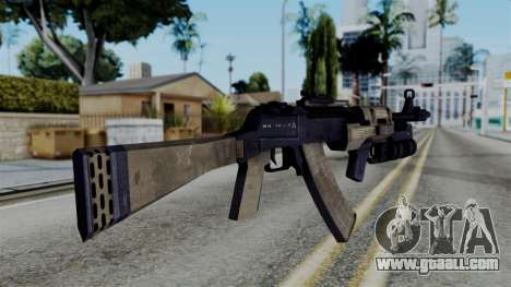 CoD Black Ops 2 - AN-94 for GTA San Andreas second screenshot