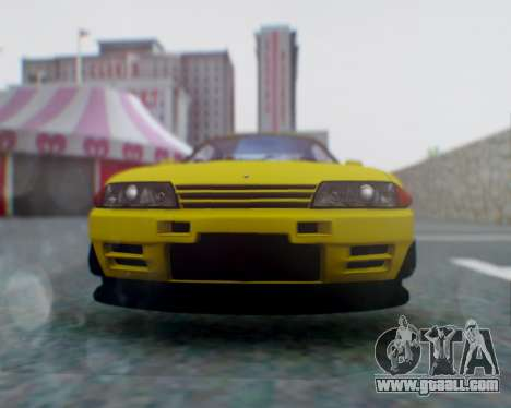 Nissan Skyline R32 GTR for GTA San Andreas right view