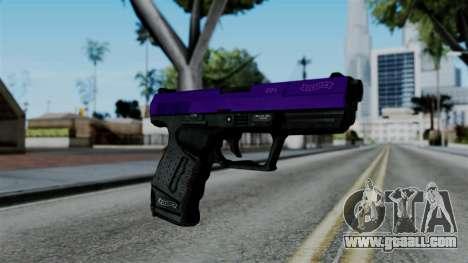 Purple Desert Eagle for GTA San Andreas