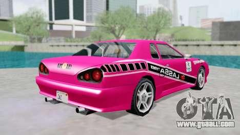 Elegy 4 Drift Drivers V2.0 for GTA San Andreas right view