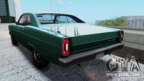 Ford Fairlane 500 1967 v1.1 for GTA San Andreas left view