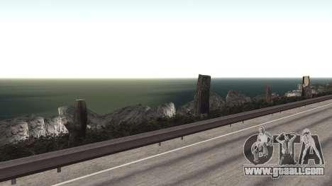 Road repair Los Santos - Las Venturas for GTA San Andreas ninth screenshot