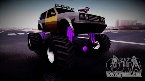 Club Monster Truck for GTA San Andreas