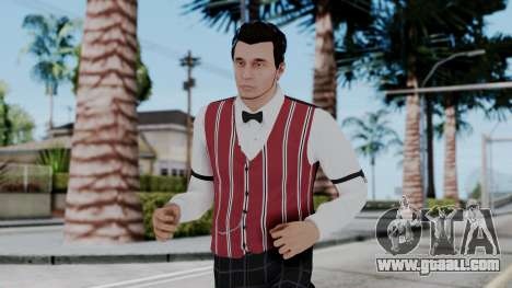Be My Valentine DLC Male Skin for GTA San Andreas