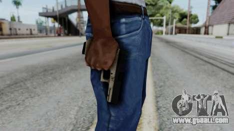 Glock 18 Sand Frame for GTA San Andreas third screenshot