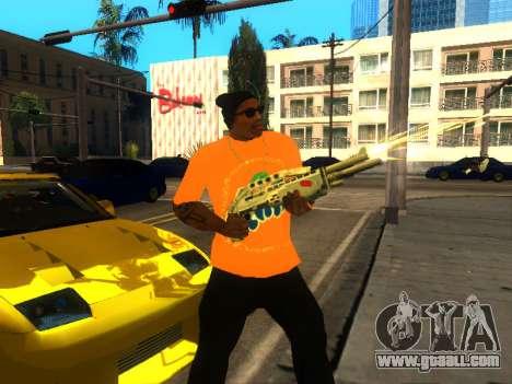 T-Shirt Fanta for GTA San Andreas third screenshot