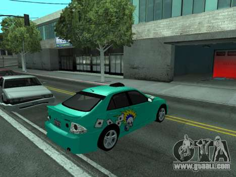 Toyota Altezza Tunable for GTA San Andreas right view