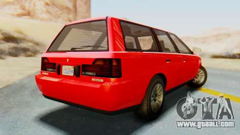 GTA 5 Vulcar Ingot IVF for GTA San Andreas left view