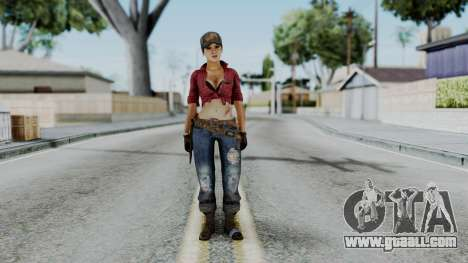 Misty - CoD Black Ops for GTA San Andreas second screenshot