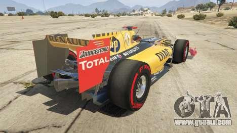 Renault F1 for GTA 5