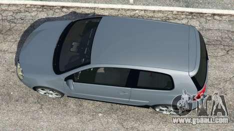 GTA 5 Volkswagen Golf Mk5 GTI 2006 v1.0 back view