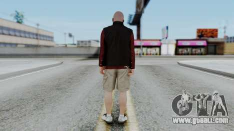 Hunter Costume Michael for GTA San Andreas third screenshot