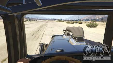 GTA 5 Mad Max The War Rig back view