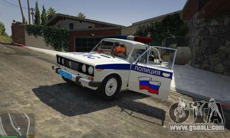 VAZ 2106 Police for GTA 5
