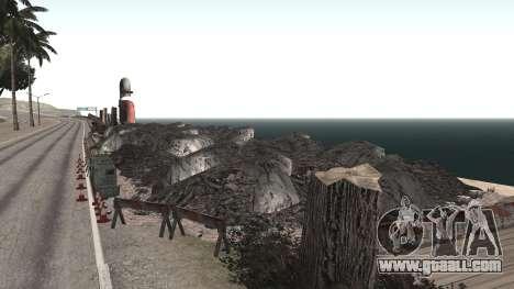 Road repair Los Santos - Las Venturas for GTA San Andreas forth screenshot