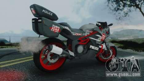 Bajidi R86 Police for GTA San Andreas left view