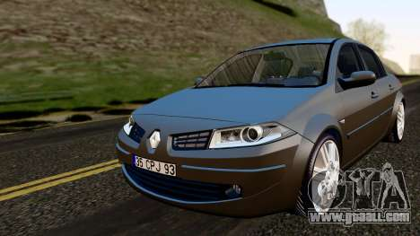 Renault Megane CPJ for GTA San Andreas
