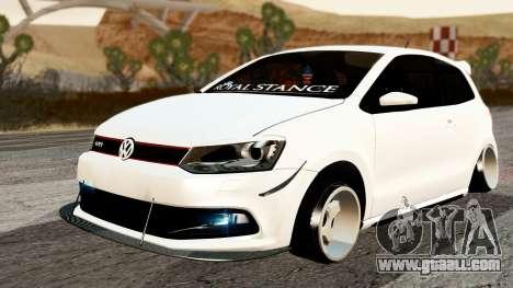Volkswagen Polo GTI for GTA San Andreas