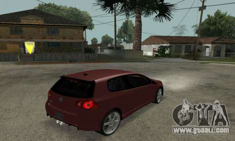 VW Golf R32 for GTA San Andreas left view