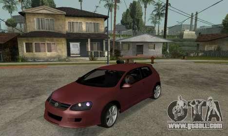VW Golf R32 for GTA San Andreas