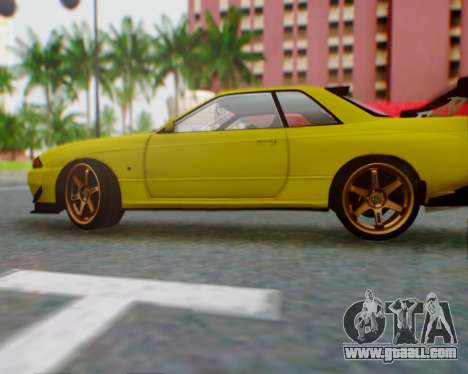 Nissan Skyline R32 GTR for GTA San Andreas left view