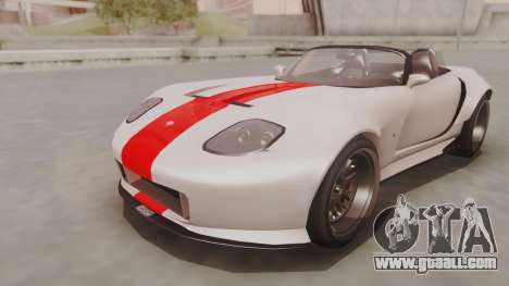 GTA 5 Bravado Banshee 900R IVF for GTA San Andreas