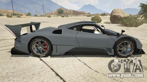 GTA 5 Pagani Zonda R v1.0 left side view