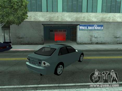 Toyota Altezza Tunable for GTA San Andreas left view