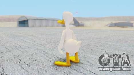 Kingdom Hearts 1 Donald Duck No Clothes for GTA San Andreas third screenshot