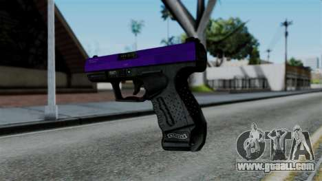 Purple Desert Eagle for GTA San Andreas second screenshot