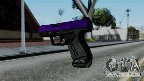 Purple Desert Eagle for GTA San Andreas second screenshot