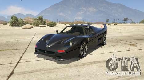 Ferrari F50 Autovista for GTA 5