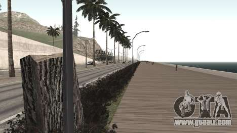 Road repair Los Santos - Las Venturas for GTA San Andreas